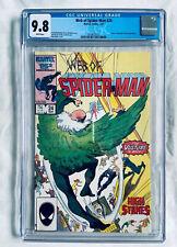 WEB OF SPIDER-MAN #24 (1987) CGC 9.8 🔥predates Amazing #298 🔥 Cameo VENOM