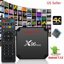 X96 MINI 4K Amlogic S905W 8GB Android 7.1 Quad Core WIFI 3D Smart TV BOX HDMI2.0