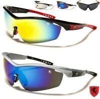 SPORTS Laufen Radfahrer-Sonnenbrille Skifahren Ski Khan Groß Wrap Extreme Herren