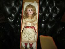 "17"" Antique French Market BEBE MODELE Doll, Original Box"