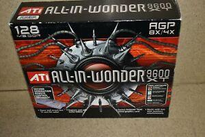 ^^ ATI ALL IN WONDER 9600 XT VIDEO CARD 128 MB - NEW (LA86)