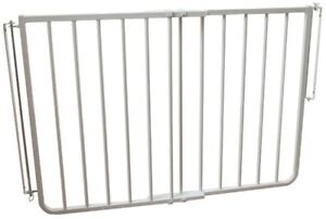 Stairway Special Safety Gate 30 in. H x 27 in. to 42.5 in. W x 2 in. Aluminum