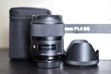Sigma AF 35mm 1.4 DG Art FX Prime Lens - For Nikon!