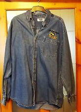 Vintage Friends of Newport Rugby Trust Long Sleeve Denim Shirt Adult Medium (T)