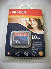 COMPACTFLASH COMPACT FLASH SANDISK 1GB NUOVA NEW