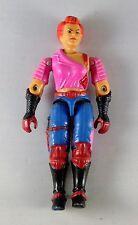"""1986 GI Joe Dreadnok Zarana no earrings 3.75"""" inch action figure #1"""