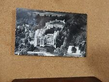 Arundel Castle Real photo Ariel View Black and white posted 1961 XC1