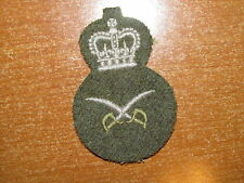 Canadian Army Trade Badge Trade 3 Physical Training Assistant Instructor 1950's