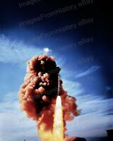 8x10 Print Launched Nike Zeus Surface to Air Missile #5502222