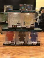 Darth Vader Hikari Mini Smugglers Bounty Lot Star Wars Red Blue Clear Gold Black