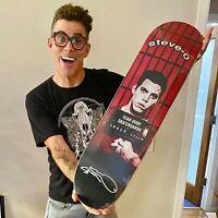 Steve-O SIGNIERT Skateboard Deck Vans DC Jackass MTV signed Wildboyz Viva La Bam