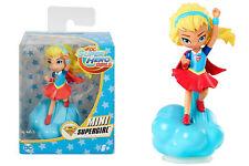 """SUPERGIRL mini-figure in vinile - statuetta da collezione """"Mattel"""" - 7 cm"""