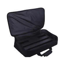 Black High Quality Big Effect Pedal Board Bag for Guitar Effect Pedal 62x37x15cm