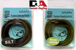 Catfish Pro Dropdown Sinking Rig Tube (2m) Available In Silt & Weed