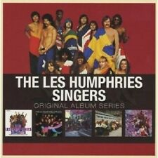LES HUMPHRIES SINGERS - ORIGINAL ALBUM SERIES 5 CD NEU