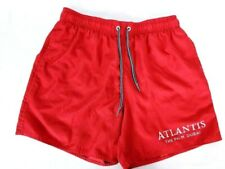 Atlantis The Palm Dubai Men's Swim Trunks Size Large Red