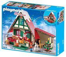 PLAYMOBIL 5976 Christmas Santa's House Santa Workshop New sealed in box OOP