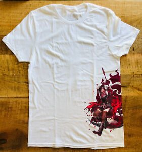 RWBY Ruby Rose T-Shirt Unisex Loot Anime Crate DANGEROUS January 2019 EXCLUSIVE