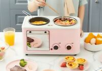 3 in 1 Multifunctional Breakfast Machine Toaster Mini Sandwich Machine Home 220V