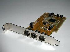PCI Firewire IEEE1394 Adapter Anubis F009-Y2, 3x extern, TI TSB43AB23, gebraucht