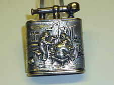 KW (KARL WIEDEN) LIFTARM LIGHTER WITH SILVER CASE - RELIEF - 1930 - GERMANY