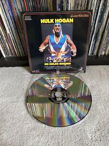 No Holds Barred WWF Hulk Hogan Laserdisc Rare and OOP!!!