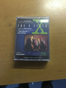 THE X FILES - FEAR - SEALED DOUBLE CASSETTE AUDIO BOOK