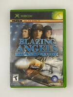 Blazing Angels Squadrons of WWII - Original Xbox Game - Tested