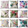Cotton Linen Throw Pillow Case Cushion Covers Sofa Square Pillowcase Home Decor
