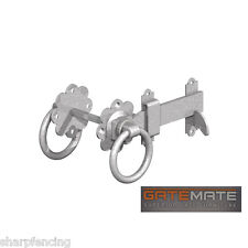 """Gatemate Gate Ring Latch Galvanised 6"""" (150mm) Fittings Included"""