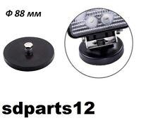 Base Magnetica Supporto Lampada LED Lavoro Rotondo Per Tetto Auto Fuoristrada