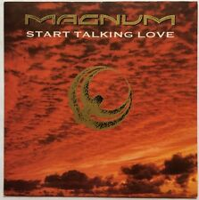 "Magnum - Start Talking Love - Polydor Records Picture Sleeve 7"" Single EX/VG+"