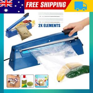 Impulse Heat Sealer Poly Bag Electric Plastic Sealing Machine Manual Press Heat