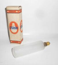 Alte Osram Stab Glühbirne 220-230 V 40 W Rö5 Imatt OVP Vintage