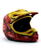 Fox Racing Iron Man Motorcycle Helmet Motocross Youth Size Medium Limited Marvel