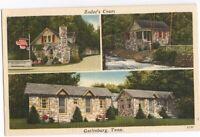 Zoders Court Motel Gatlinburg Tn Vintage Postcard Tennessee