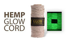 Glow In The Dark - 1MM Hemp Twine Hemptique Cord Macrame String 205ft Spool