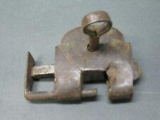 Old Padlock 6 cm with Key Lock Lock