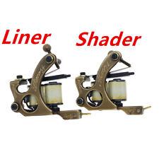 tattoo machines tattoo guns brass frame set liner and shader(pack of 2)
