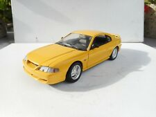 1/18 JOUEF FORD MUSTANG 94 IN YELLOW OHNE BOX