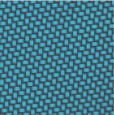 Hydrographic Film Water Transfer Hydro Dip Carbon Fiber Metallic Blue 1sq