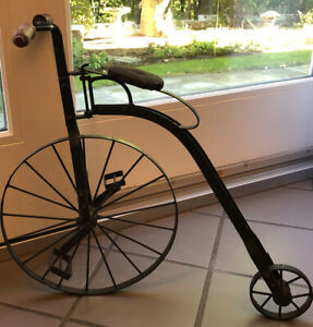 Decorative Antique Reproduction 18 inch Metal Bicycle