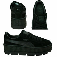 Puma Fenty By Rihanna Cleated Creeper Lace Up Suede Womens Trainers 366268 04 X