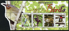 Philippines Birds on Stamps 2019 MNH Bee-Eaters Warblers Flowerpecker 4v M/S