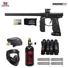 Maddog Empire Mini Gs Expert Paintball Gun Package - Dust Black