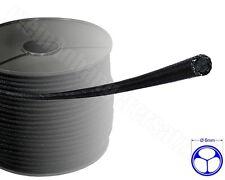 0,95€/m 10m Expanderseil Gummiseil Planenseil Spannseil für Pkw Anhänger sw 6mm