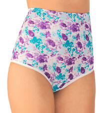 Vanity Fair Perfectly Yours 100% Polyester Full-Cut Sweet Summer Brief Size 6/M