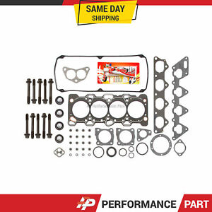 Head Gasket Bolts Set for 93-99 Mitsubishi Galant Expo Eagle Plymouth 2.4 4G64