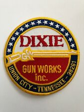 DIXIE Gun Works Inc. Union City Tennessee Embroidered Patch NOS +