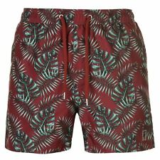 Pierre Cardin Hombres Tropical Swimshorts Mens Bañador